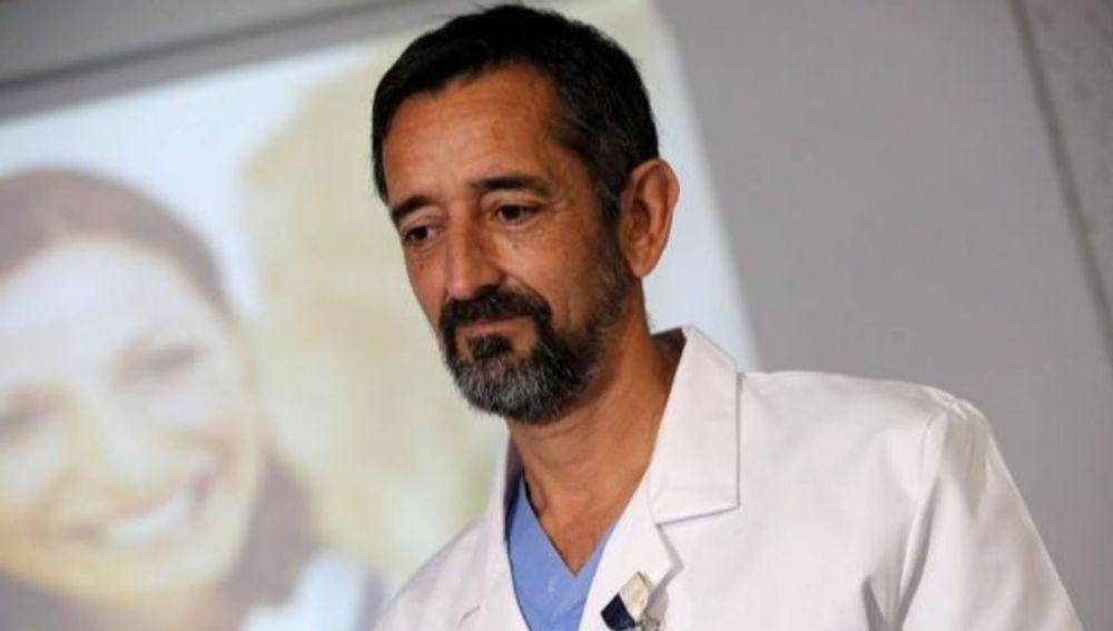 El doctor Pedro Cavadas