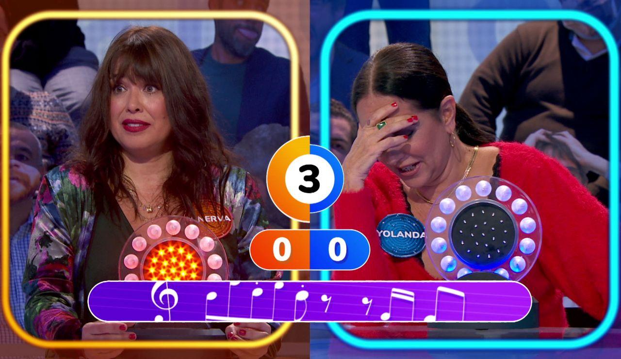 """Bebe se lo pone difícil a Yolanda Ramos y Minerva Piquero en 'La Pista': """"Se nos da fatal"""""""