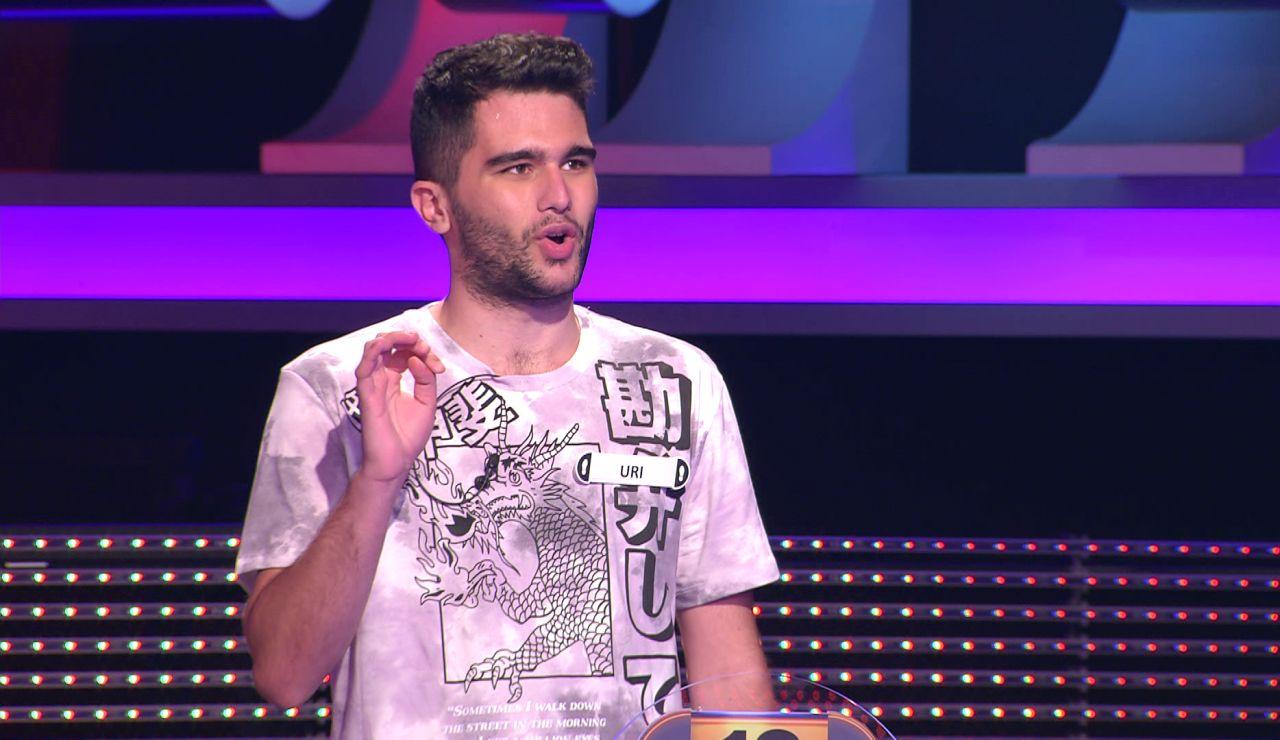 """""""Eres tan friki como parecías"""": Arturo Valls flipa con el concursante de '¡Ahora caigo!' que imita a Goofy"""