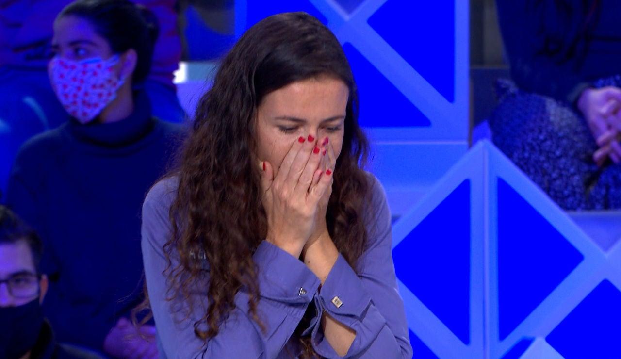 """Los nervios traicionan a una concursante de 'La ruleta de la suerte': """"Estoy atacadísima"""""""