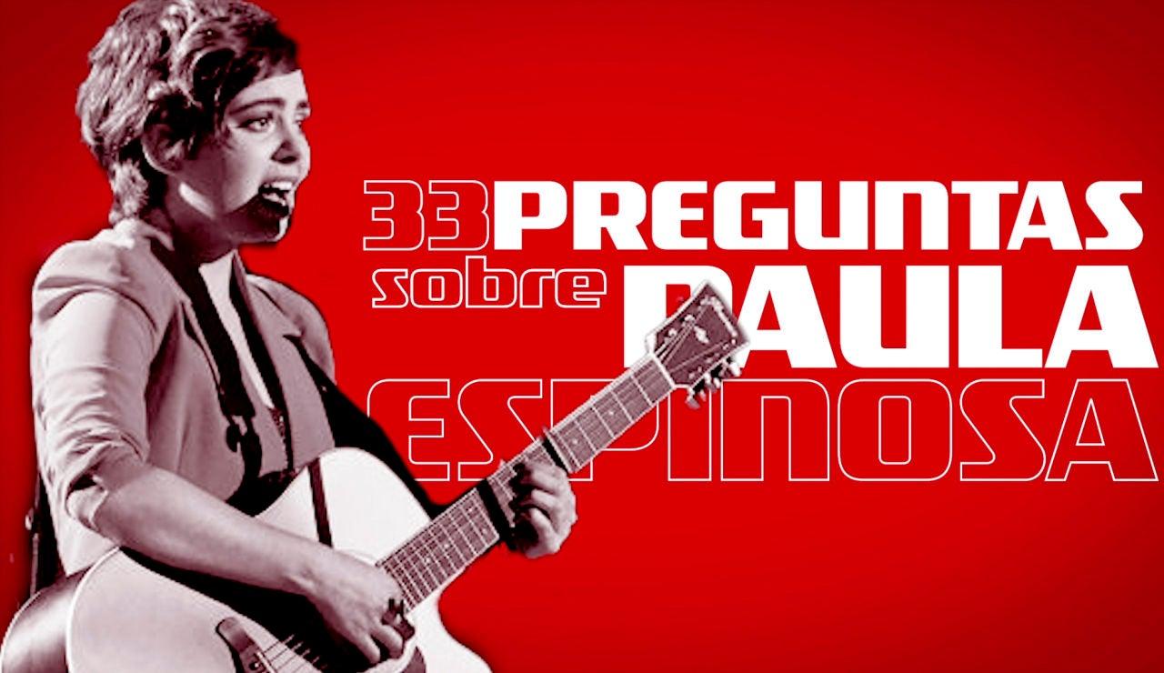 33 cosas sobre Paula Espinosa, finalista de 'La Voz'