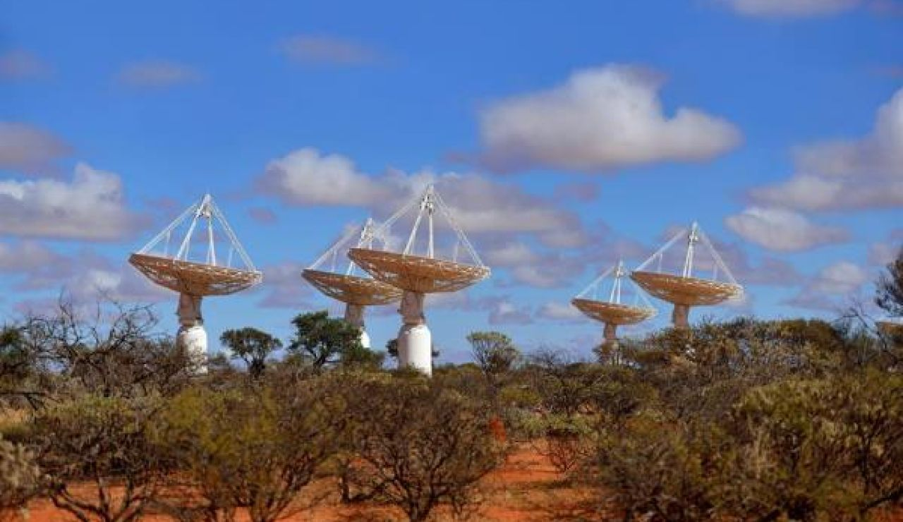 Instalaciones del telescopio Australian Square Kilometre Array Pathfinder