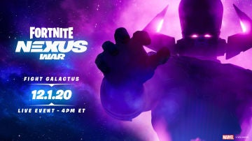 Evento Galactus de Fortnite