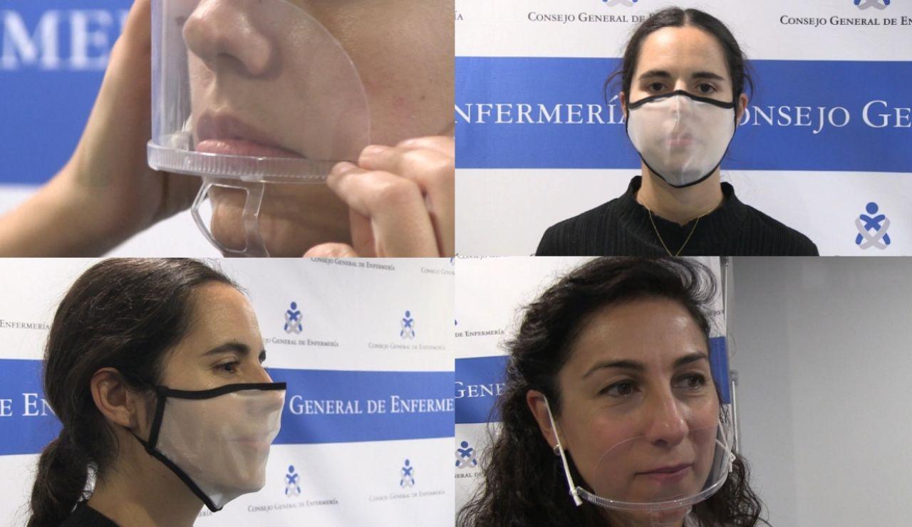 Qué mascarillas transparentes protegen contra el coronavirus
