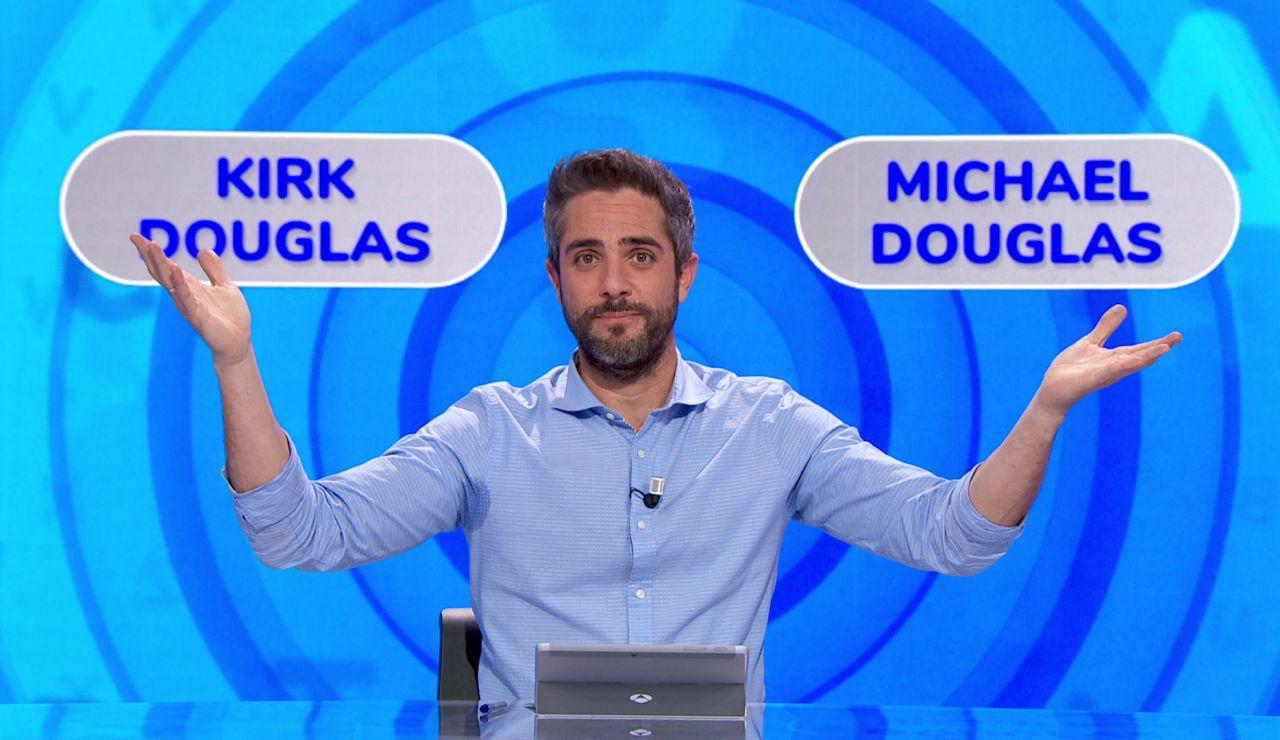 """La pronunciación del apellido """"Douglas"""", a debate en 'Pasapalabra: ¿depende de la generación?"""