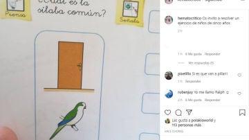 Instagram de @hematocritico