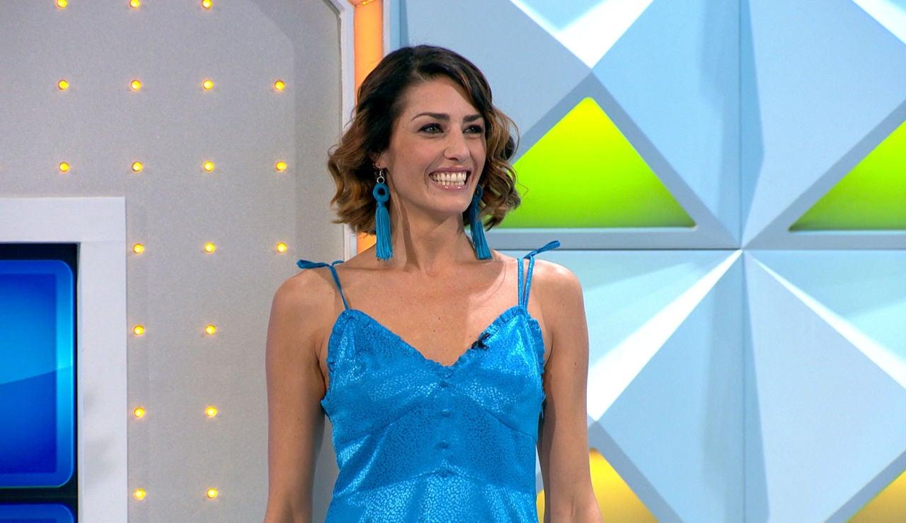 El bonito detalle de la novia de un concursante de 'La ruleta de la suerte' a Laura Moure