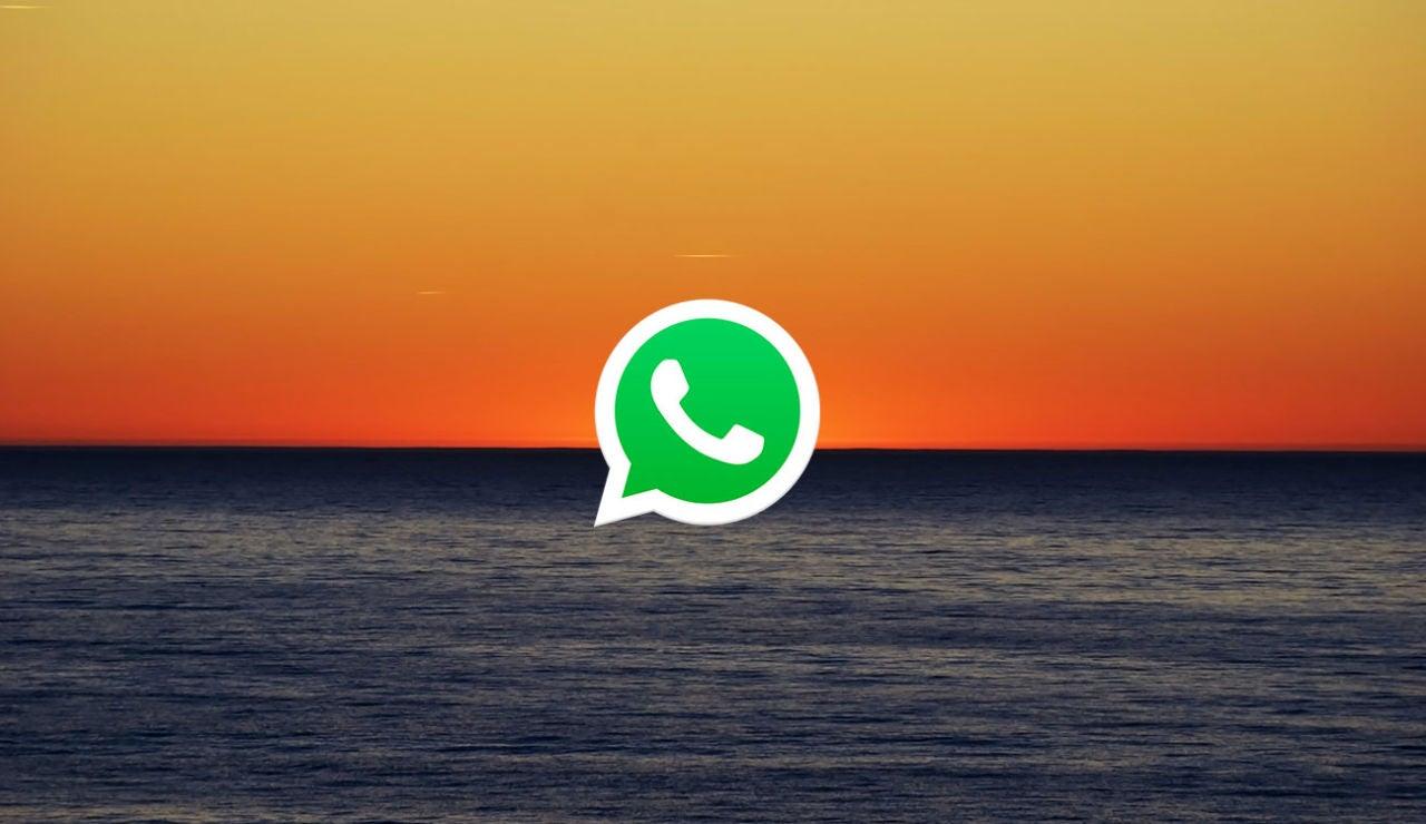 Fondo oscuro WhatsApp