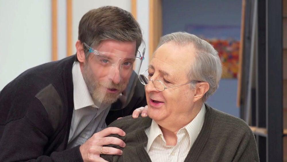 """José Antonio Sayagués: """"Las escenas grupales son las más divertidas"""""""