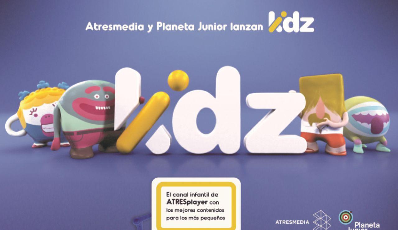 Atresmedia y Planeta Junior lanzan KIDZ