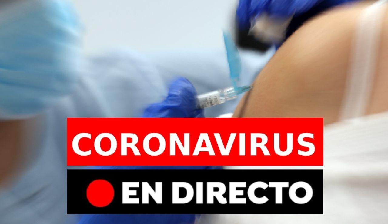 Coronavirus España: Última hora de los contagios, fallecidos, restricciones y plan de vacunación en directo