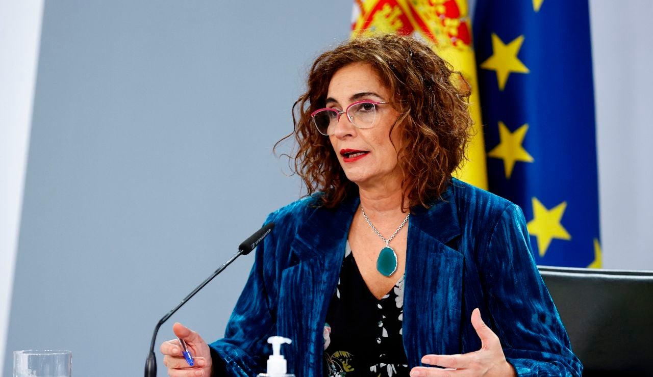 María Jesús Montero, tras el Consejo de Ministros