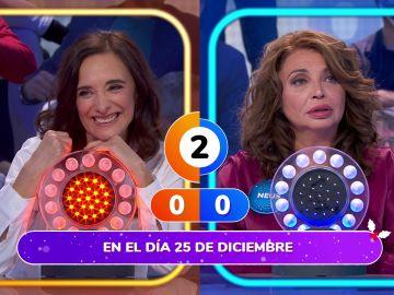 ¿Una canción de Navidad o un villancico? Neus Asensi y Ana Torrent, confusas en 'La Pista'