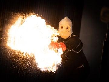 ¿Cómo es el fuego visto por dentro? El alucinante y arriesgado experimento de Marron