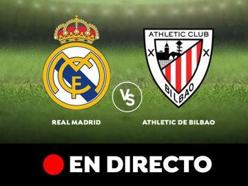 Real Madrid - Athletic de Bilbao: Resultado y goles del partido de hoy, en directo | Liga Santander