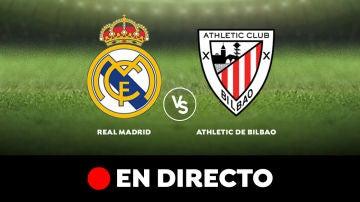 Real Madrid - Athletic de Bilbao: Resultado y goles del partido de hoy, en directo   Liga Santander