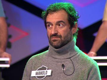 """""""Creo que la sé"""" La convicción de Manolo lleva al error a 'Los dispersos'"""