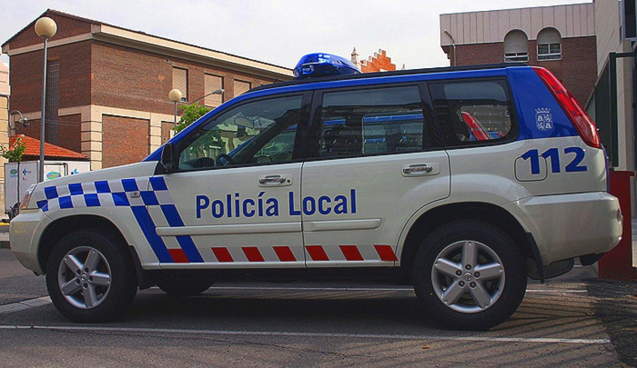 Vehículo de la policía local de Benavente