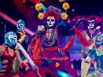 Catrina se pone 'Rabiosa' en 'Mask Singer' al ritmo de Shakira