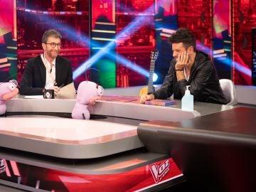 Trancas y Barrancas ponen en un aprieto a Pablo López con 'La Voz al revés'