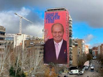 Puigdemont, Coentrao o Juan Carlos I, los mejores memes de la pancarta de Joan Laporta junto al Bernabéu