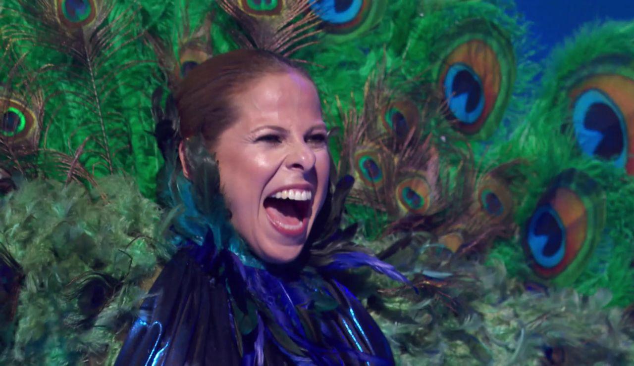 ¡Pastora Soler era el Pavo Real de 'Mask Singer'! Así hemos desvelado su identidad