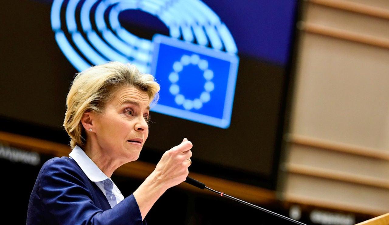 La presidenta de la Comisió Europea, Ursula von der Leyen