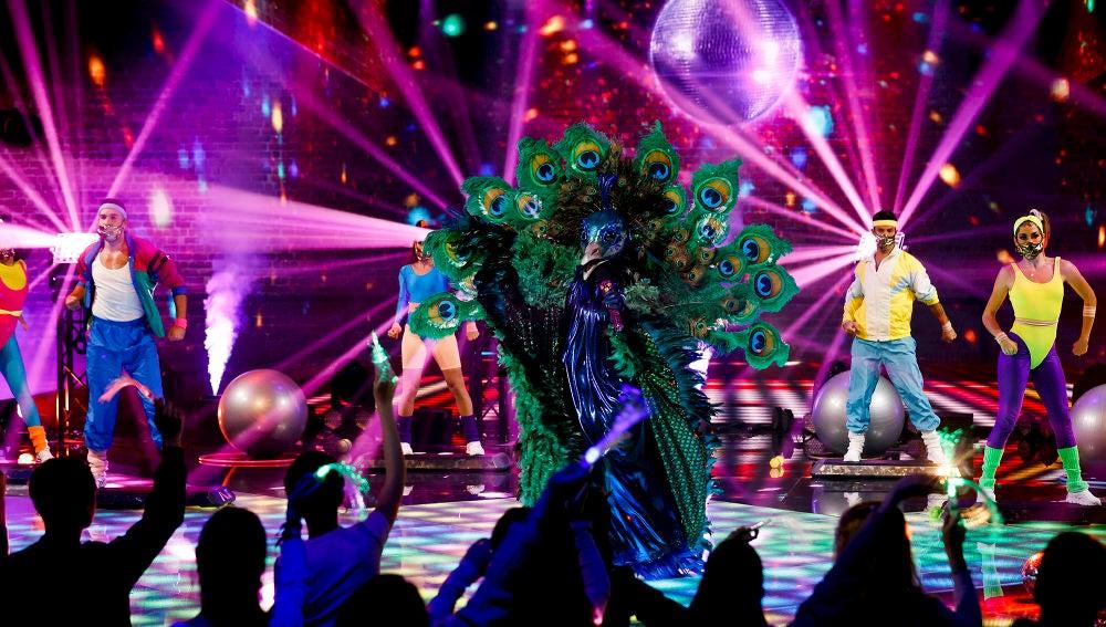 El Pavo Real arrasa en 'Mask Singer' con 'Physical' de Dua Lipa