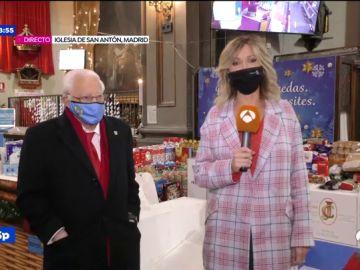 Susanna Griso abandona el plató de Espejo Público para visitar las colas del hambre que ha dejado la pandemia de coronavirus