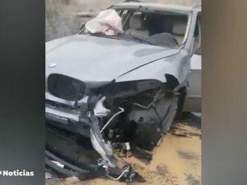 Macroperación contra el narcotráfico; arrollaron un coche policial con un todoterreno con 500 kilos de hachís