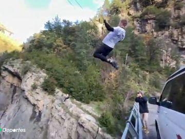 Un youtuber se salta el confinamiento y otras restricciones para grabar estas espectaculares imágenes en el Parque Nacional de Ordesa