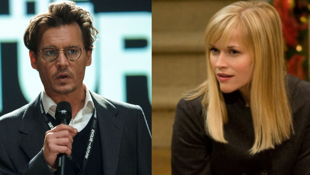 Johnny Depp y Reese Witherspoon