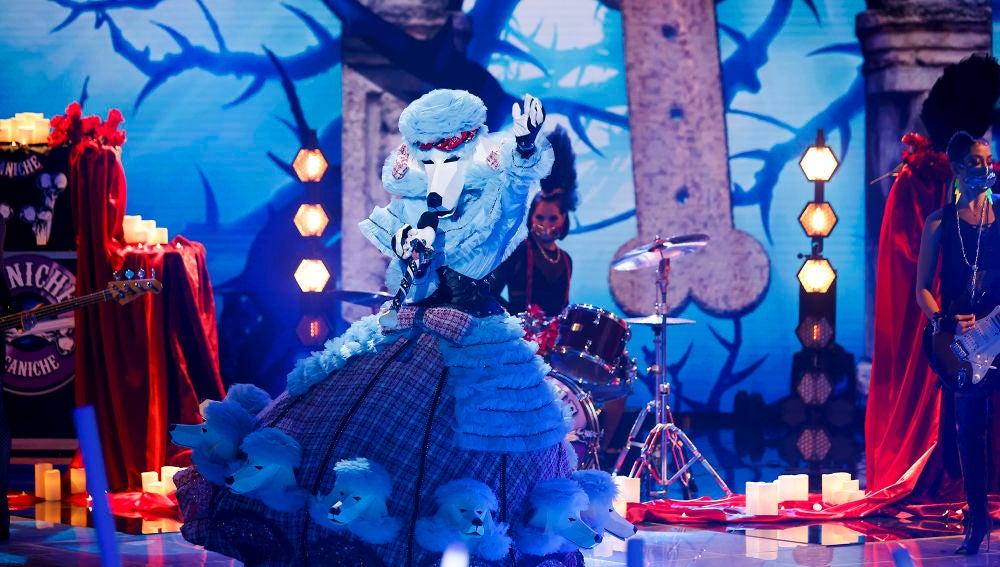 El Caniche se desmelena en 'Mask Singer' con 'Sweet child O' mine' de Guns N' Roses