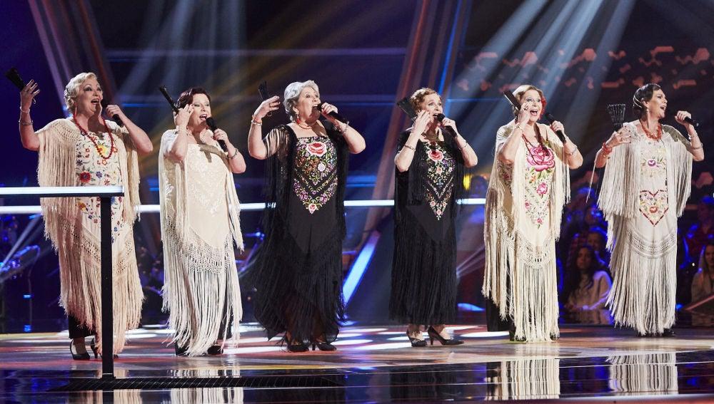 Las Senior Copleras cantan 'La morena de mi copla' en la Semifinal de 'La Voz Senior'