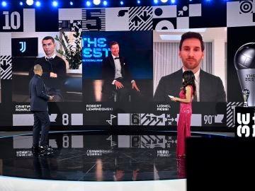 Un momento de la gala The Best 2020 de la FIFA