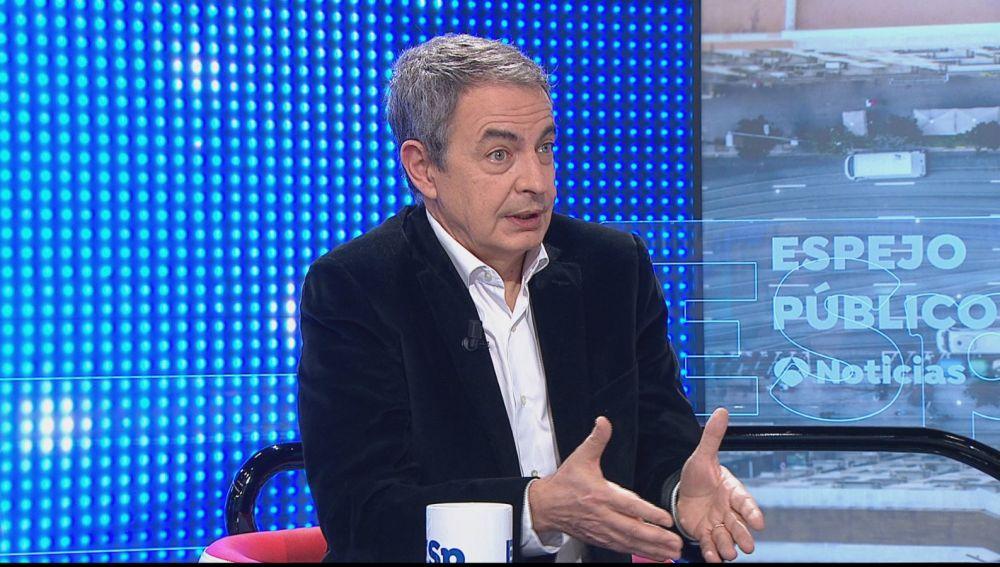 """Zapatero defiende los pactos con Bildu: """"Otegi apostó decididamente por el fin de la violencia"""""""