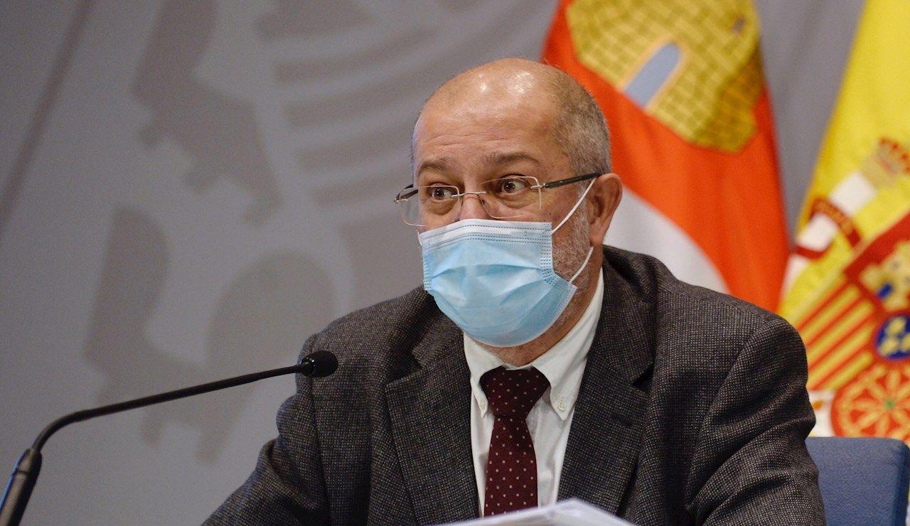 El vicepresidente de la Junta de Castilla y León, Francisco Igea.