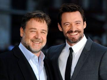 Russell Crowe y Hugh Jackman