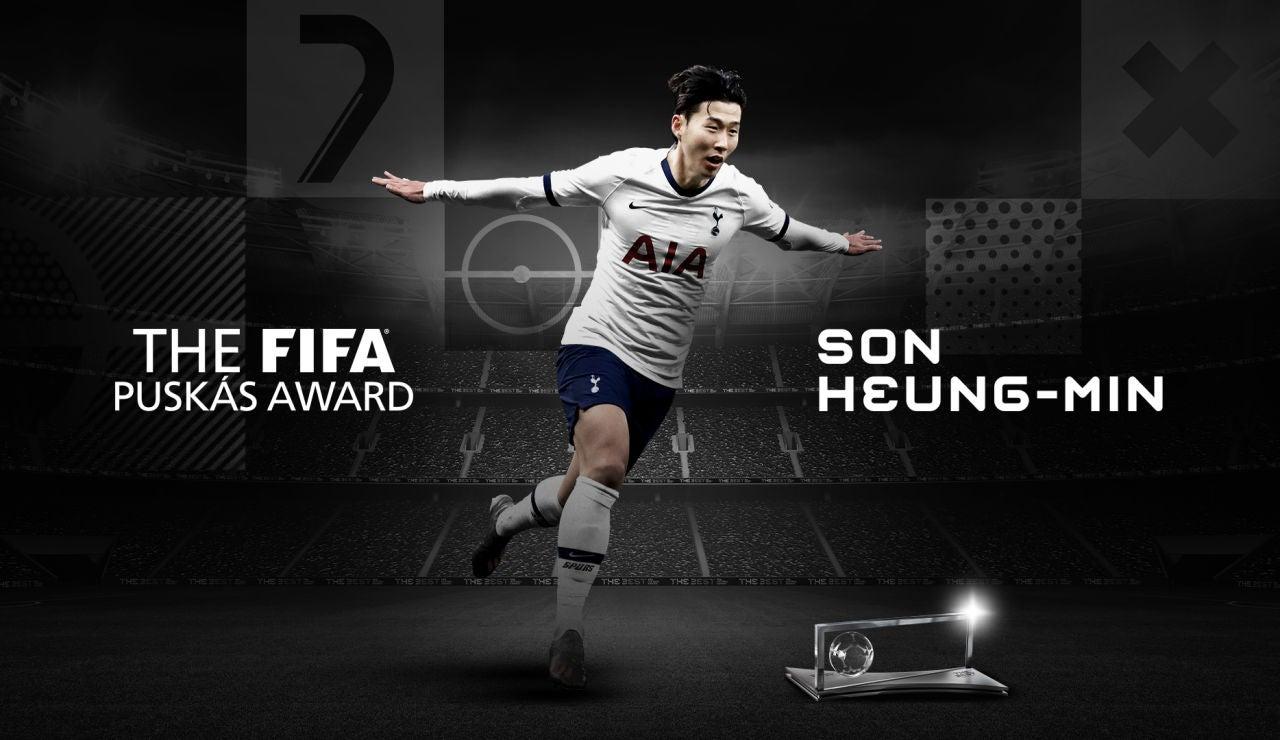 Heung-min Son, premio Puskas 2020