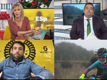 Denuncia alcalde Navas del rey prueba ciclista