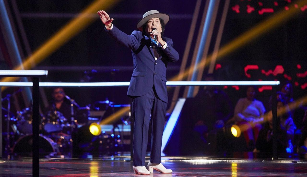 Emi Bonilla canta 'La niña de fuego' en la Semifinal de 'La Voz Senior'