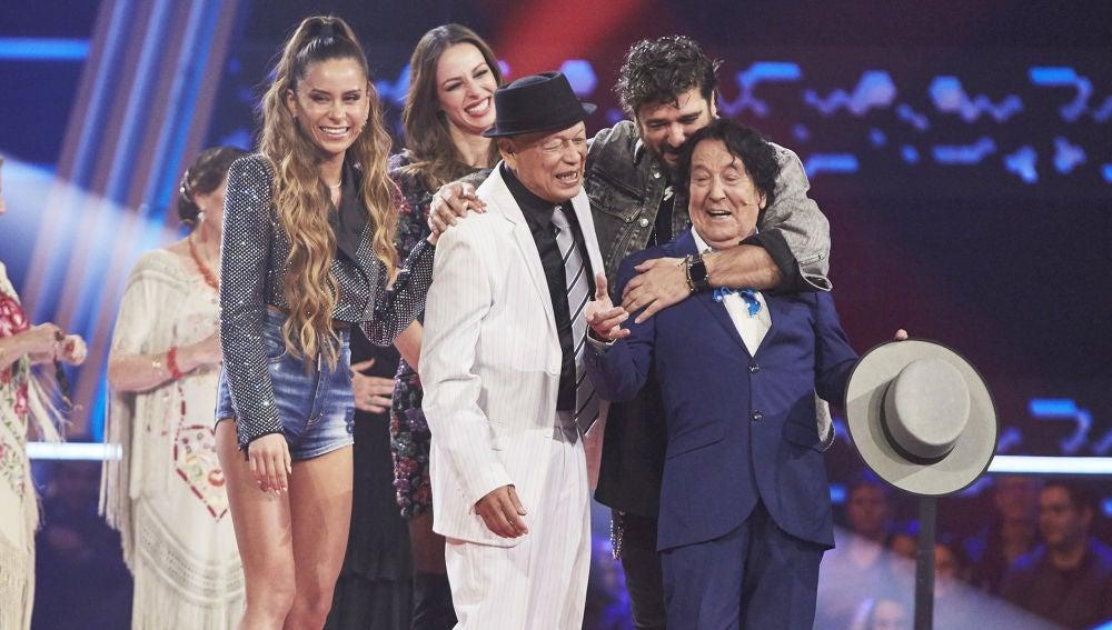 Antonio Orozco y Cami eligen a Emi Bonilla y Nico Fioole como finalistas de 'La Voz Senior'