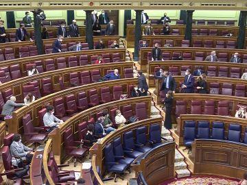 Incidente en el Congreso entre diputados de Vox y un parlamentario de ERC