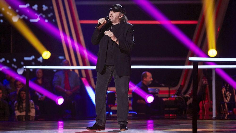 Fernando Demon canta 'The best' en la Semifinal de 'La Voz Senior'