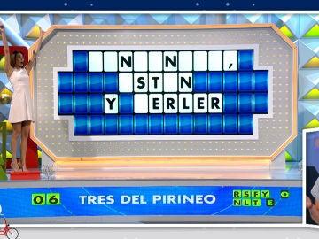 """La impresionante forma de resolver de una concursante de 'La ruleta de la suerte': """"Qué maravilla de final de programa"""""""