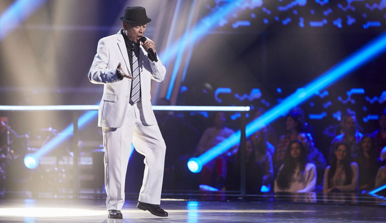 Nico Fioole canta 'I've got you under my skin' en la Semifinal de 'La Voz Senior'