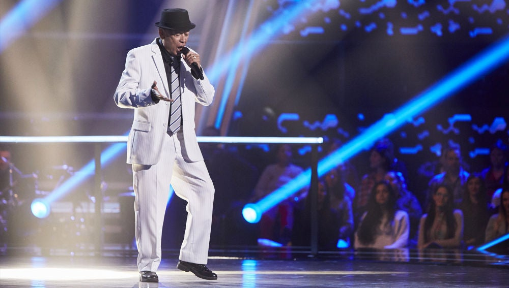 Nico Fioole canta 'I've got you under my skin' en la Semifinal de 'La Voz Senior'