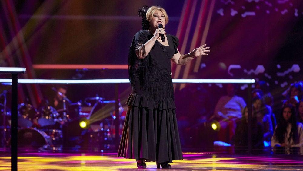 Juani Álvarez canta 'Silencio por un torero' en la Semifinal de 'La Voz Senior'