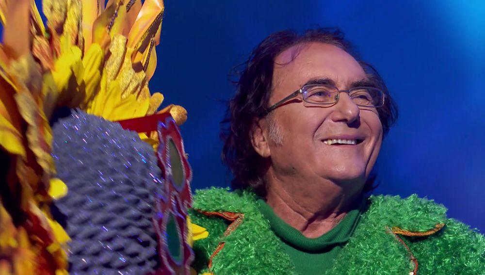 Albano Carrisi era el Girasol: ¡Desvelamos su identidad en 'Mask Singer'!