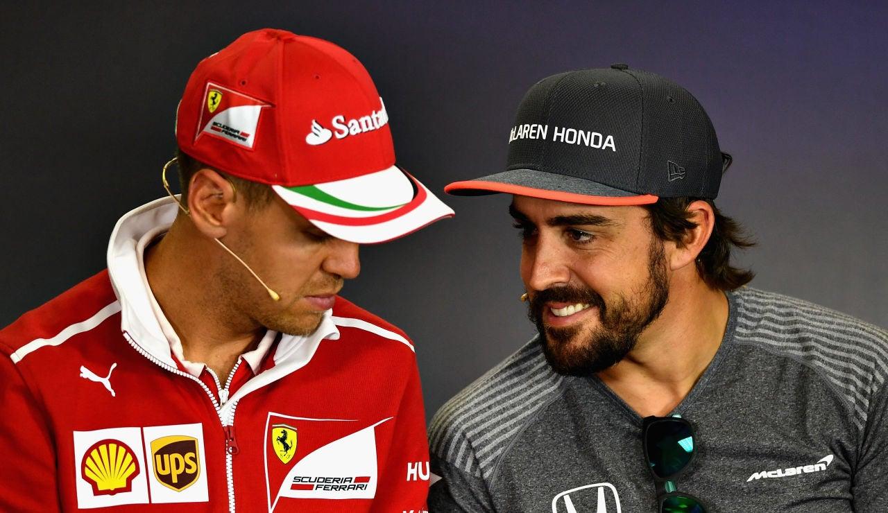 """Fernando Alonso: """"Tras 5 años quedó claro que Vettel no podía ser el salvador"""""""